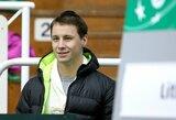 Geriausių pasaulio tenisininkų reitinge daugelis lietuvių smuktelėjo žemyn