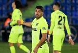 """""""Atletico"""" nepavyko įveikti dešimtyje rungtyniauti likusių """"Getafe"""" futbolininkų"""