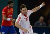 Pasaulio vyrų rankinio čempionate paaiškėjo visi aštuntfinalių dalyviai