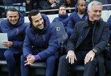 """Ką J.Mourinho pakeitė, kad """"Tottenahm"""" grįžo į pergalių kelią?"""