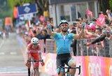 """15-ąjį """"Giro d'Italia"""" etapą laimėjo D.Cataldo, lyderiai išsaugojo savo pozicijas"""