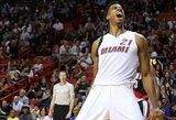 """D.Lillardas draskė """"Heat"""" gynybą, tačiau Majamio komanda rado pergalingą atsakymą"""