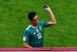 """M.Ozilas negali susitaikyti su iškritimu iš pasaulio čempionato: """"Tam prireiks laiko"""""""