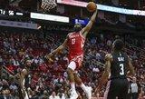 """""""Rockets"""" užfiksavo visų laikų tritaškių rekordą ir sutriuškino varžovus"""