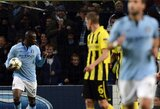 """""""Man City"""" išsigelbėjo nuo pralaimėjimo, """"Real"""" klubas sutriuškino """"Ajax"""""""