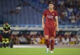 """""""Inter"""" pasiūlymą atmetęs E.Džeko pratęsė kontraktą su """"Roma"""""""