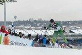 Slidininkų lenktynėse Slovakijoje S.Terentjevas finišavo 7-as