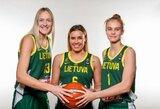 Lietuvos moterų rinktinės krepšininkės dalyvavo nuotaikingoje fotosesijoje