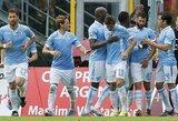 """Italijoje svečiuose triumfavo tik """"Lazio"""", visur kitur pergales šventė šeimininkai"""