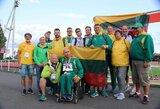 Lengvaatlečiai Europos neįgaliųjų čempionate iškovojo aštuonis medalius