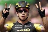 """D.Groenewegenas laimėjo antrą """"Tour de France"""" etapą per dvi dienas"""