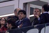 """D.Maradona: """"Jeigu nepabusime, su belgais turėsime problemų"""""""