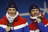 """Intriga iki paskutinės dienos: Vokietija ir Norvegija """"įstrigo"""" ties 13 aukso medalių"""