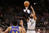 """P.Millsas toliau gins """"Spurs"""" komandos garbę"""