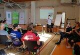Aukščiausio lygio ekspertė dalinasi patirtimi su Lietuvos badmintono treneriais