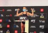 """UFC organizuoja R.Namajunas ir W.Zhang kovą dėl titulo, T.Fergusonui """"UFC 254"""" turnyre ieškomas naujas varžovas"""