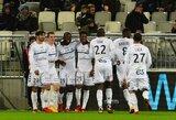 """Prancūzijoje - įtikinama """"Strasbourg"""" pergalė prieš """"Bordeaux"""""""
