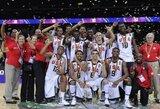 JAV septyniolikmečiai trečią kartą paeiliui puošėsi pasaulio čempionato auksu