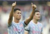 C.Ronaldo motina atskleidė, kurioje komandoje norėtų išvysti dar kartą rungtyniaujantį portugalą