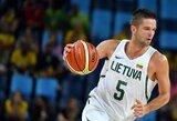 Galingo M.Kalniečio žaidimo neužteko: nesėkmė kroatams Lietuvos rinktinę nustūmė į trečią vietą