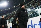 """""""Juventus"""" ketina atnaujinti sutartį su patyrusiu gynėju G.Chiellini"""