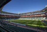 Rusijos futbolo įdomybės: stadiono prižiūrėtojas pavijo žurnalistą ir jam smogė