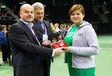 V.Vileikytė - geriausia Europos čempionato vartininkė