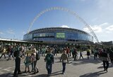 """Iš 2020-ųjų Europos čempionato organizatorių pašalintą Briuselį nori pakeisti """"Wembley"""" stadionas"""