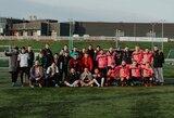 Futbolo mėgėjai vasario 16-ąją pažymėjo tradicija tapusiame labdaros turnyre