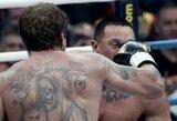 M.Kokliajevas pareikalavo revanšo MMA narve, A.Jemeljanenka atsiprašė dėl tokio greito nokauto
