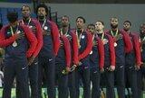Galingoji JAV rimtai treniruotis pradėjo tik prieš ketvirtfinalį