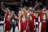 """Eurolyga pripažino """"Žalgirio"""" pralaimėjimą galėjusią nulemti teisėjų klaidą"""