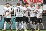 """Vokietijos taurėje – netikėta """"Eintracht"""" pergalė prieš """"Schalke 04"""" ekipą"""