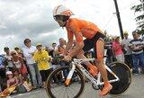 """""""Tour of Britain"""" dviračių lenktynėse G.Bagdonas toliau gerina savo pozicijas"""