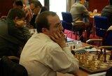 Europos šachmatų pirmenybių devintajame ture lietuviai su varžovais sužaidė lygiosiomis