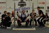 Dar trys Lietuvos sportininkai iškovojo Europos jaunimo jėgos trikovės čempionato medalius