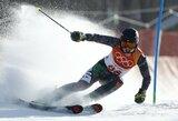 A.Drukarovas Italijoje pratęsė kalnų slidinėjimo varžybų maratoną