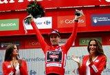 """Stebuklą atskiro starto lenktynėse sukūręs T.Dumoulinas – naujasis """"Vuelta a Espana"""" lenktynių lyderis"""