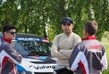 V.Švedas Europos ralio čempionate Latvijoje atsisveikina su senuoju bolidu