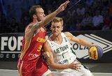 Lietuvos 3x3 krepšinio rinktinė olimpinėje atrankoje pateko į vieną grupę su amerikiečiais