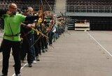 Šaudymo iš lanko meistrai varžysis tarptautinėse varžybose Alytuje