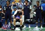 """""""US Open"""" turnyro istorija pasikartojo: A.Murray'ų ir Kinijoje eliminavo F.Verdasco"""
