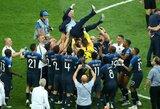 Pamatykite: prancūzų euforija tapus pasaulio čempionais
