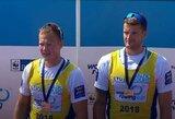 Fantastiškai spurtavę irkluotojai S.Ritteris ir D.Nemeravičius laimėjo pasaulio taurės varžybų auksą! (papildyta)