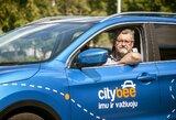 """V.Čeponio džiaugsmui – nauja LKL ir """"CityBee"""" partnerystė: """"Pagaliau tilpsiu į automobilį"""""""