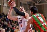 """""""Juventus"""" FIBA Čempionų lygoje pralaimėjo ketvirtą kartą iš eilės"""