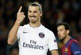 Z.Ibrahimovičius Katare stengiasi nutraukti kontraktą su PSG klubu