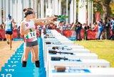 Kombinuotoje rungtyje išsigelbėjusi E.Adomaitytė – pasaulio jaunimo čempionato finale