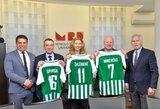 """Moterų futbolo akademija """"Žalgiris"""" pasirašė bendradarbiavimo sutartį su Mykolo Romerio universitetu"""