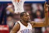 """Aštuoniese žaidusiems """"Lakers"""" sensacijos sukurti neleido K.Durantas"""